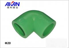 【冷热水管】保利绿色90°弯头 (Ⅲ)