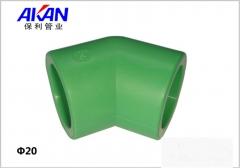 【冷热水管】保利绿色45°弯头 (Ⅲ)