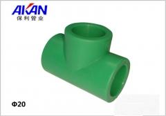 【冷热水管】保利绿色等径三通接头(Ⅲ)