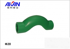 【冷热水管】保利绿色注塑绕曲管 (Ⅲ)