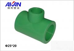 【冷热水管】保利绿色异径三通 (Ⅲ)