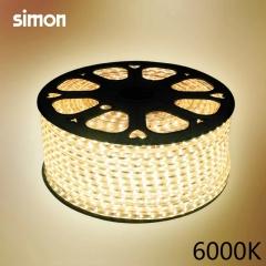 【晶亮系列】西蒙2835高压灯带N6824-0001/0002/0003,100米,4W/米(I)
