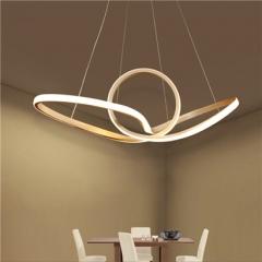 【吊灯】企诚现代简约餐厅异形铝材吊灯LD035(Ⅴ)