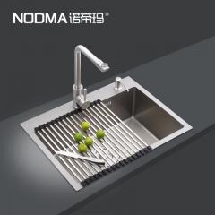【手工槽加厚面板系列】诺帝玛水槽NU535H,600*450*220(Ⅰ)